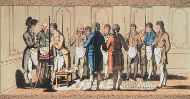 Dia 12 de Maio de 1725 – É encontrada a primeira referência ao Grau de Mestre Maçom