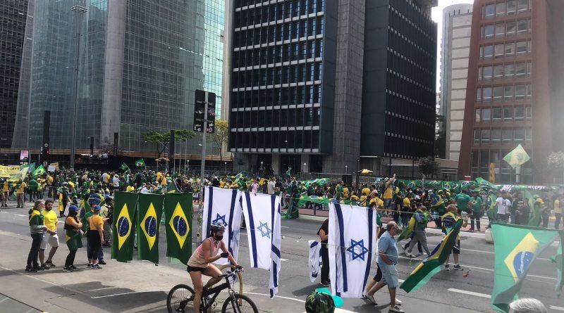 7 de Setembro na Av. Paulista – Transmissão ao vivo da Rede Colmeia.