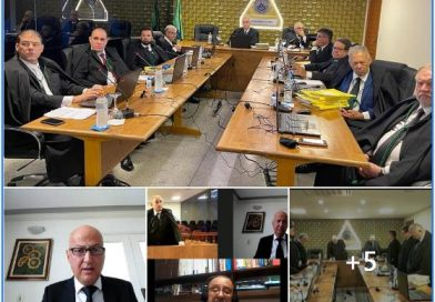 STJM – SUPERIOR TRIBUNAL DE JUSTIÇA MAÇÔNICO REALIZA SESSÃO EXTRAORDINÁRIA NO GOB.
